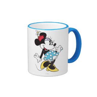 Minnie Mouse clásica 3 Taza De Dos Colores