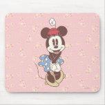 Minnie Mouse clásica 7 Alfombrilla De Raton