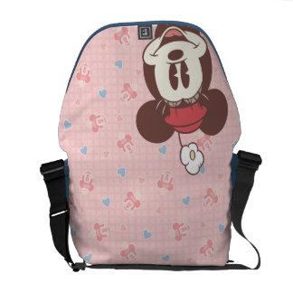 Minnie Mouse clásica 7 Bolsas Messenger
