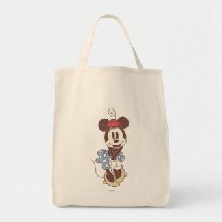 Minnie Mouse clásica 7 Bolsa Tela Para La Compra