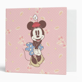 Minnie Mouse clásica 7 Carpeta 2""