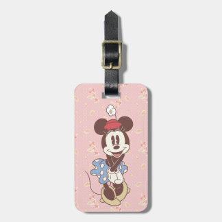 Minnie Mouse clásica 7 Etiquetas Para Maletas