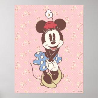 Minnie Mouse clásica 7 Póster
