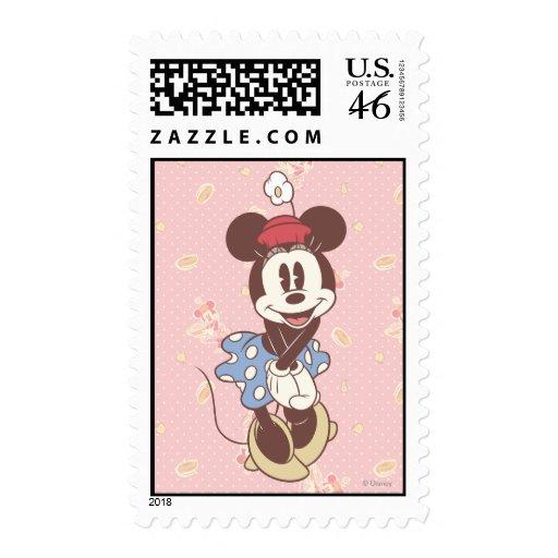 Minnie Mouse clásica 7 Sello
