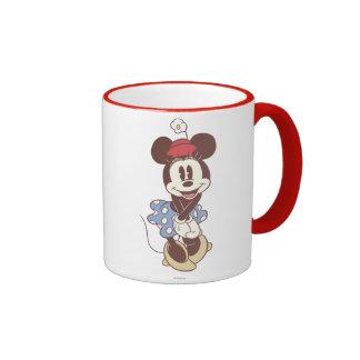 Minnie Mouse clásica 7 Taza De Dos Colores