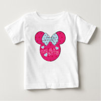 Minnie Mouse   Cute as a Button Baby T-Shirt