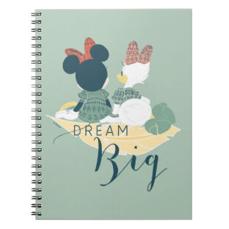 Minnie Mouse & Daisy Duck | Dream Big Notebook