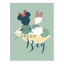 Minnie Mouse & Daisy Duck | Dream Big Postcard