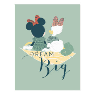 Minnie Mouse & Daisy Duck | Dream Big Postcard