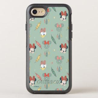 Minnie Mouse & Daisy Duck   Dream Catcher Pattern OtterBox Symmetry iPhone 7 Case