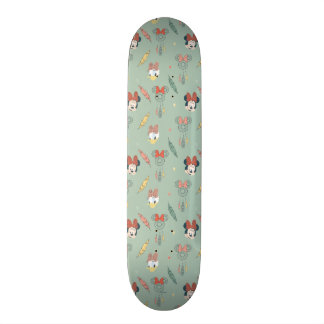 Minnie Mouse & Daisy Duck | Dream Catcher Pattern Skateboard