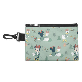 Minnie Mouse & Daisy Duck | Let's Get Away Pattern Accessory Bag