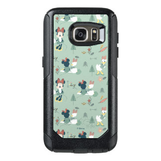 Minnie Mouse & Daisy Duck   Let's Get Away Pattern OtterBox Samsung Galaxy S7 Case