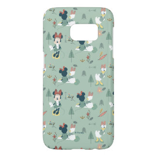 Minnie Mouse & Daisy Duck | Let's Get Away Pattern Samsung Galaxy S7 Case