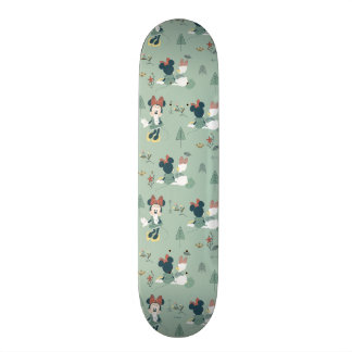 Minnie Mouse & Daisy Duck | Let's Get Away Pattern Skateboard Deck