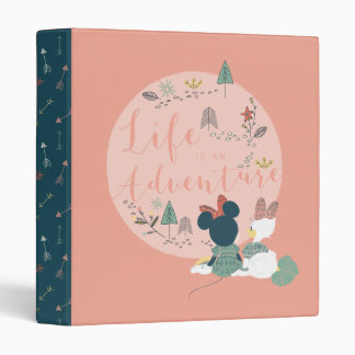 Minnie Mouse & Daisy Duck | Life is an Adventure 3 Ring Binder