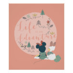 Minnie Mouse & Daisy Duck   Life is an Adventure Poster