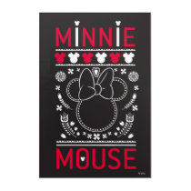 Minnie Mouse | Decoration Pattern Acrylic Wall Art
