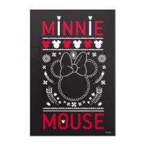 Minnie Mouse | Decoration Pattern Acrylic Wall Art