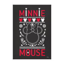 Minnie Mouse | Decoration Pattern Canvas Print