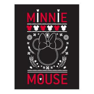 Minnie Mouse | Decoration Pattern Postcard
