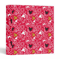 Minnie Mouse | Doodle Pattern Binder