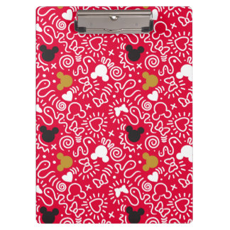 Minnie Mouse | Doodle Pattern Clipboard