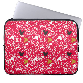 Minnie Mouse | Doodle Pattern Computer Sleeve