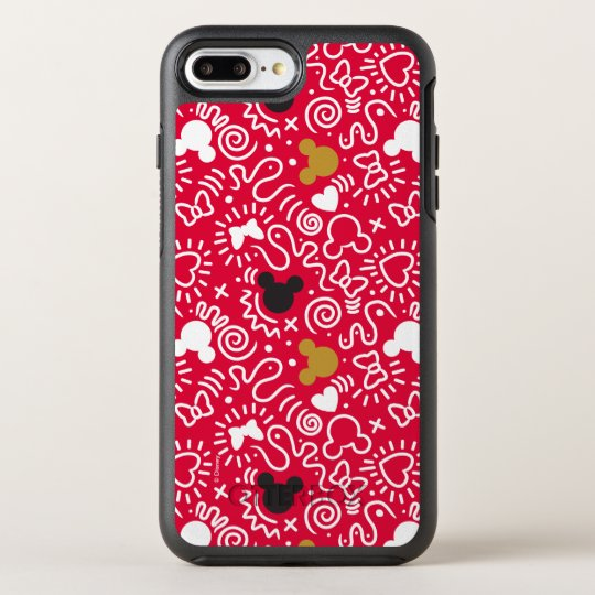size 40 143b5 e6a89 Minnie Mouse | Doodle Pattern OtterBox iPhone Case