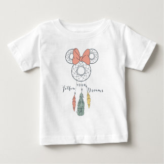 Minnie Mouse Dream Catcher | Follow Your Dreams Baby T-Shirt