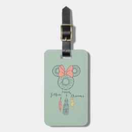 Minnie Mouse Dream Catcher   Follow Your Dreams Bag Tag