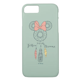 Minnie Mouse Dream Catcher | Follow Your Dreams iPhone 8/7 Case