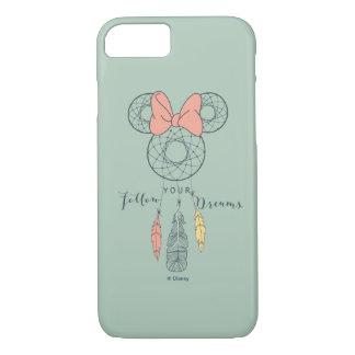 Minnie Mouse Dream Catcher | Follow Your Dreams iPhone 8/7 Case