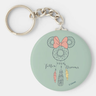 Minnie Mouse Dream Catcher | Follow Your Dreams Keychain