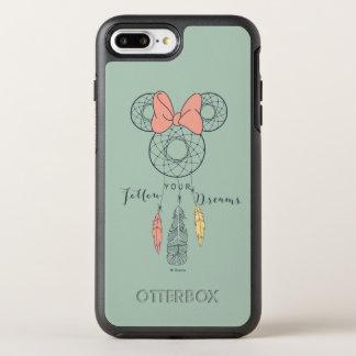 Minnie Mouse Dream Catcher   Follow Your Dreams OtterBox Symmetry iPhone 7 Plus Case