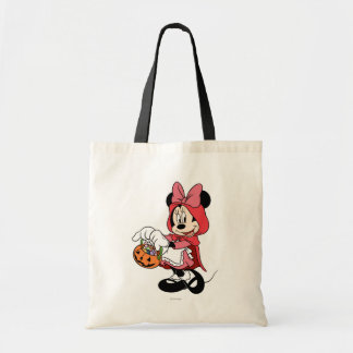 Minnie Mouse Dressed as Little Red Riding Hood Budget Tote Bag