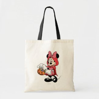 Minnie Mouse Dressed as Little Red Riding Hood Bag