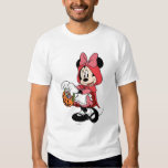 Minnie Mouse Dressed as Little Red Riding Hood Shirt