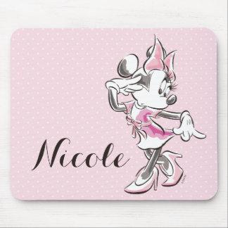 Minnie Mouse el | está todo sobre la acción de la Alfombrilla De Ratón