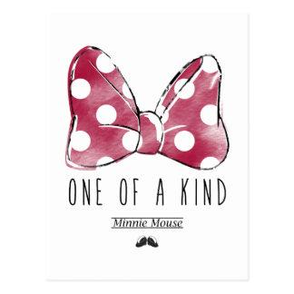 Minnie Mouse el | uno de una clase Postales