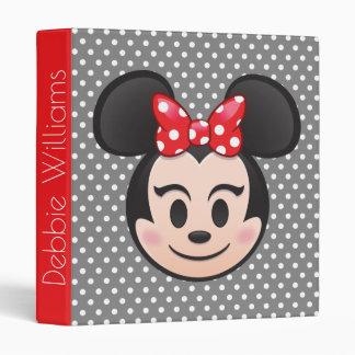 Minnie Mouse Emoji Binder