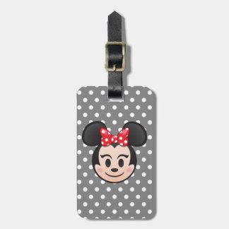Minnie Mouse Emoji Luggage Tag