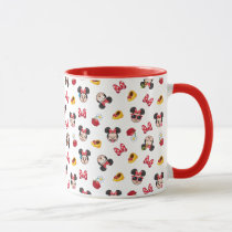 Minnie Mouse Emoji Pattern Mug