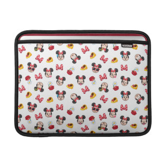 Minnie Mouse Emoji Pattern Sleeve For MacBook Air