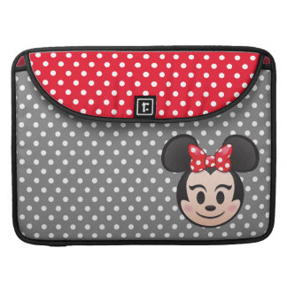 Minnie Mouse Emoji Sleeve For MacBook Pro