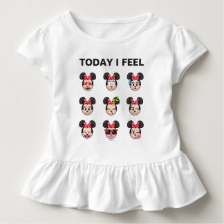 Minnie Mouse Emojis | Today I Feel Toddler T-shirt