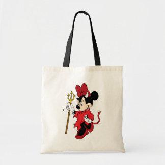 Minnie Mouse en traje del diablo Bolsas