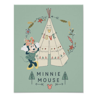 Minnie Mouse   Festival Fun Poster