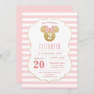 birthday 25 Minnie baby shower 25 Baby girl birthday invitations Onesie Invitations Minnie birthday invitations Minnie invitations