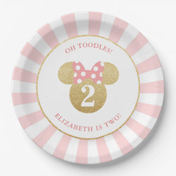 Paper Plates with Birthday Invitations design